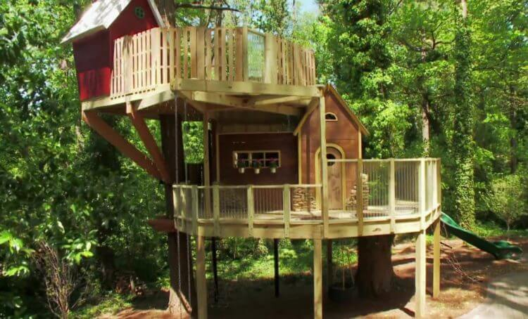 21 Unbeliavably Amazing Treehouse Ideas that Will Inspire You 12