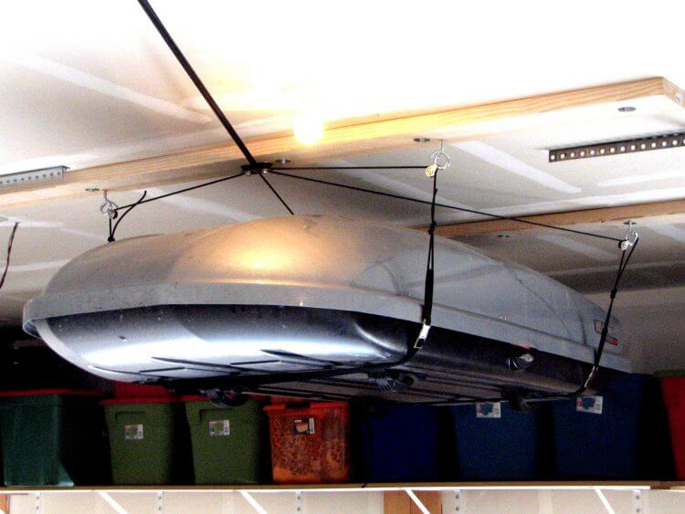 Overhead Garage Storage Ideas