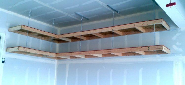 Overhead Garage Storage Design