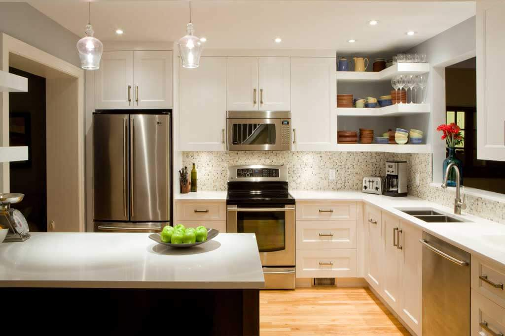 6 Small Kitchen Remodel Ideas that Spruce Your Kitchen Up 4