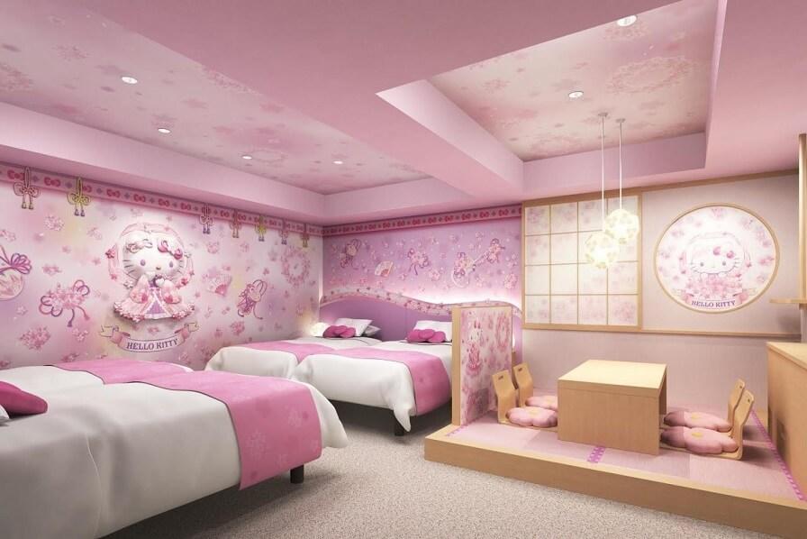 A Modern Hello Kitty Bedroom