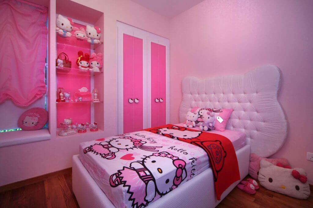 Distinct Hello Kitty Bedroom Ideas