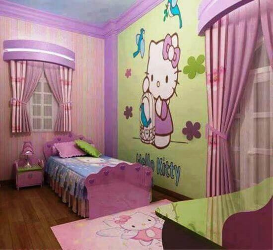 Hello Kitty Bedroom Wall Decor