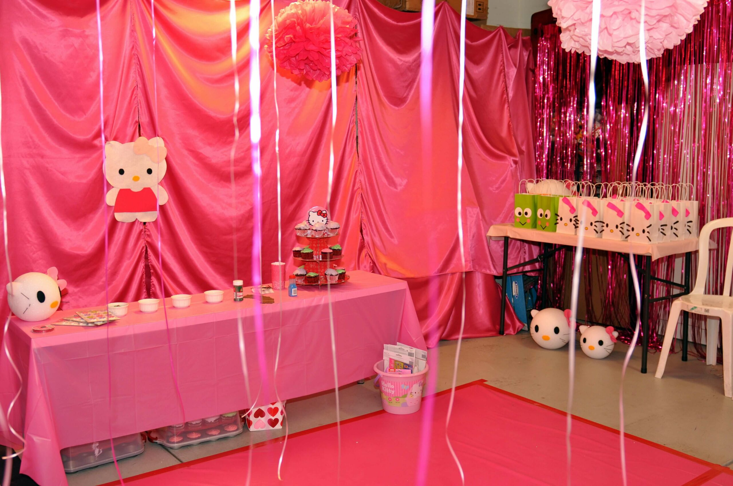 Hello Kitty Birthday Room