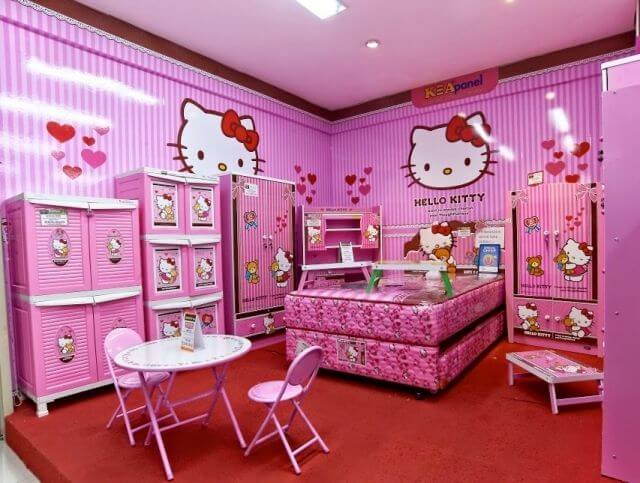 Pink Hello Kitty Bedroom Concepts