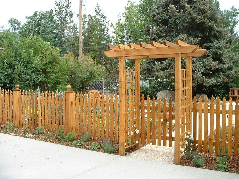 Decorative Garden Fences
