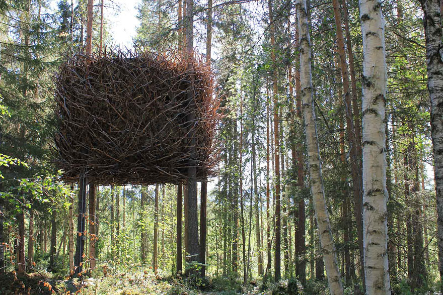 Camouflage Tree House