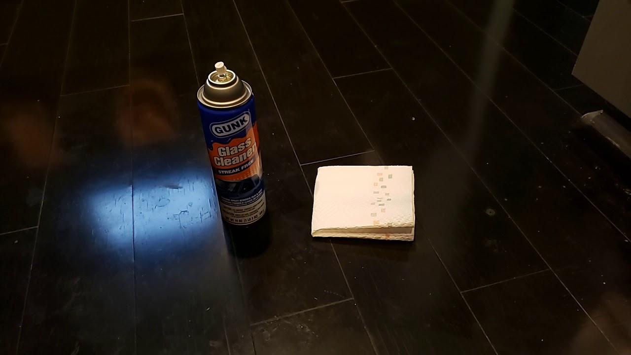 Clean Dark Hardwood Floors