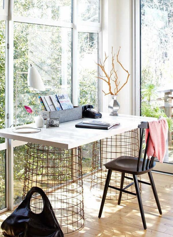 Unique DIY Computer Desk